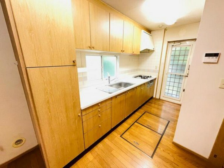キッチン 収納豊富なキッチン