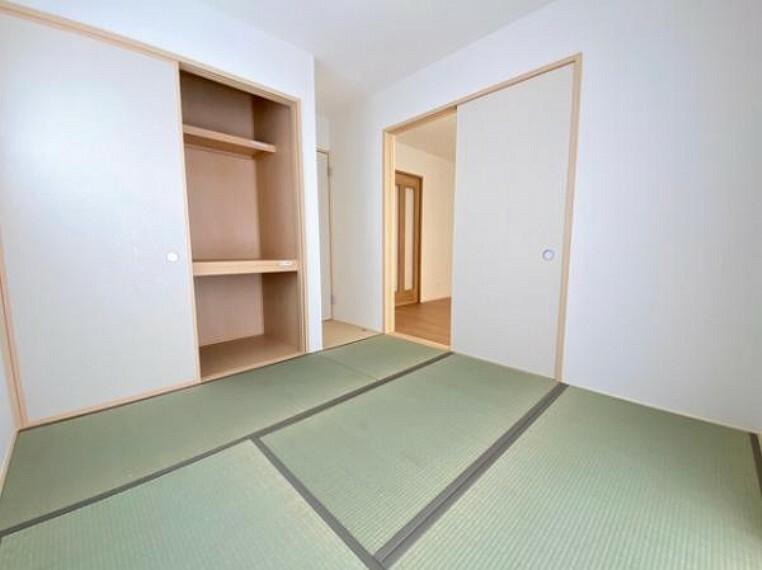 子供部屋 いぐさの香りがする和室は、客室としても使用でき、お子様のお昼寝にも使い方色々です!