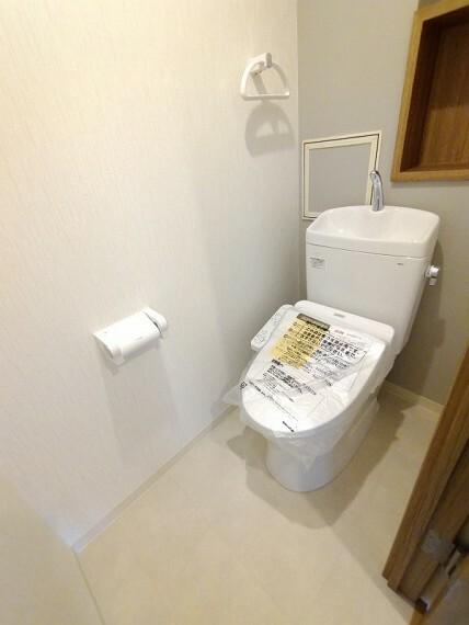 トイレ 【ウォシュレット付き】 新調しています
