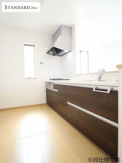 キッチン 【同仕様写真】システムキッチン・浄水器一体型シャワー水栓・床下収納