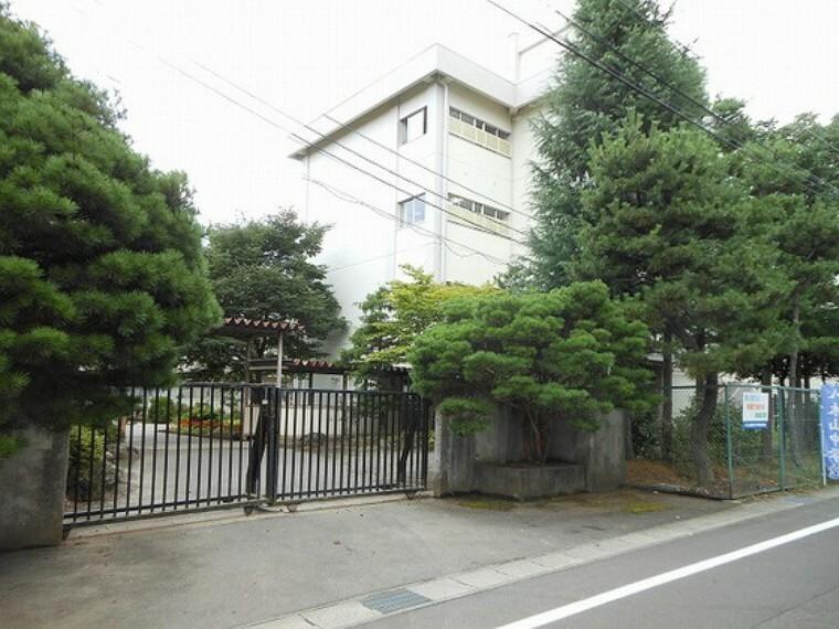 中学校 仙台市立八木山中学校