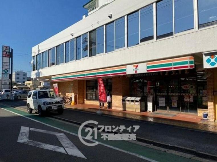 コンビニ セブンイレブン 京田辺河原店