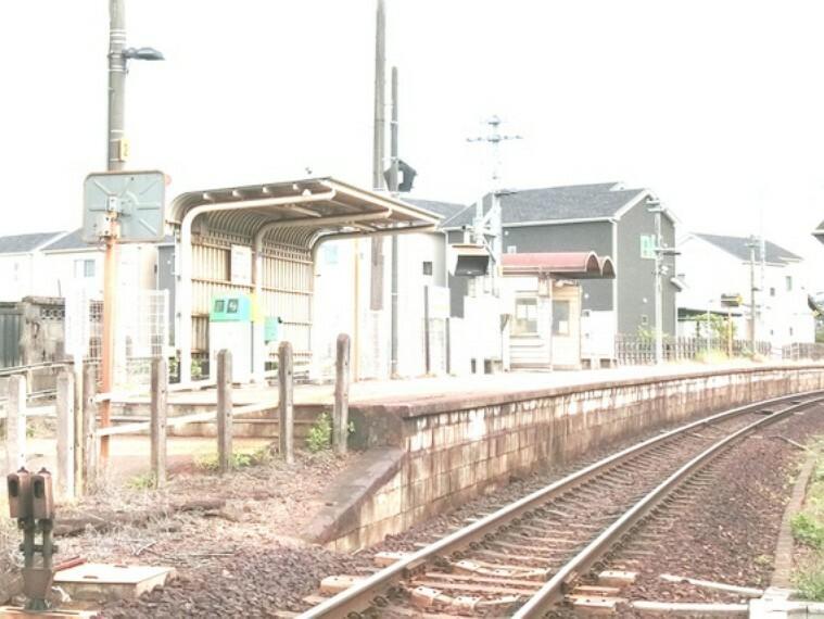 美濃川合駅まで徒歩約22分。(約1700m)