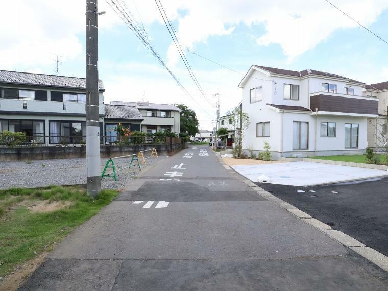 現況写真 【前面道路】西側幅員約4.4m公道