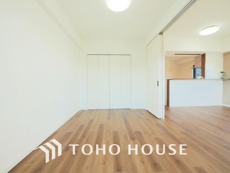 子供部屋 約6帖ほどの居室は、使い勝手が良く好みのデザインにできます