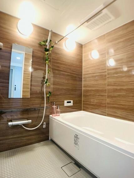 浴室 ゆったりとしたバスルームで一日の疲れをリフレッシュ!