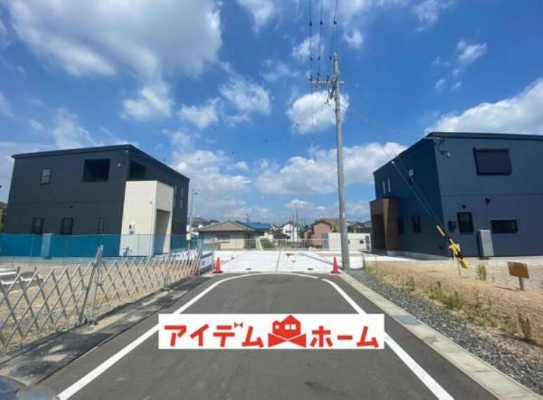 現況写真 前面道路(2021年7月)撮影