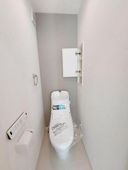 トイレ トイレはウォッシュレット機能付き