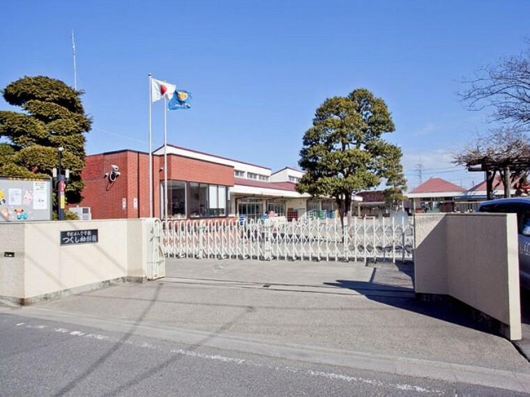 幼稚園・保育園 【幼稚園】つくし幼稚園まで650m