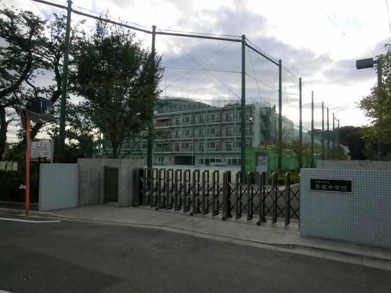 中学校 【中学校】西東京市立青嵐中学校まで550m