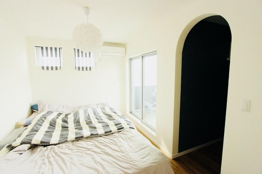 寝室 施工例