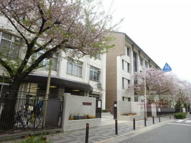 中学校 【中学校】大阪市立旭東中学校まで500m