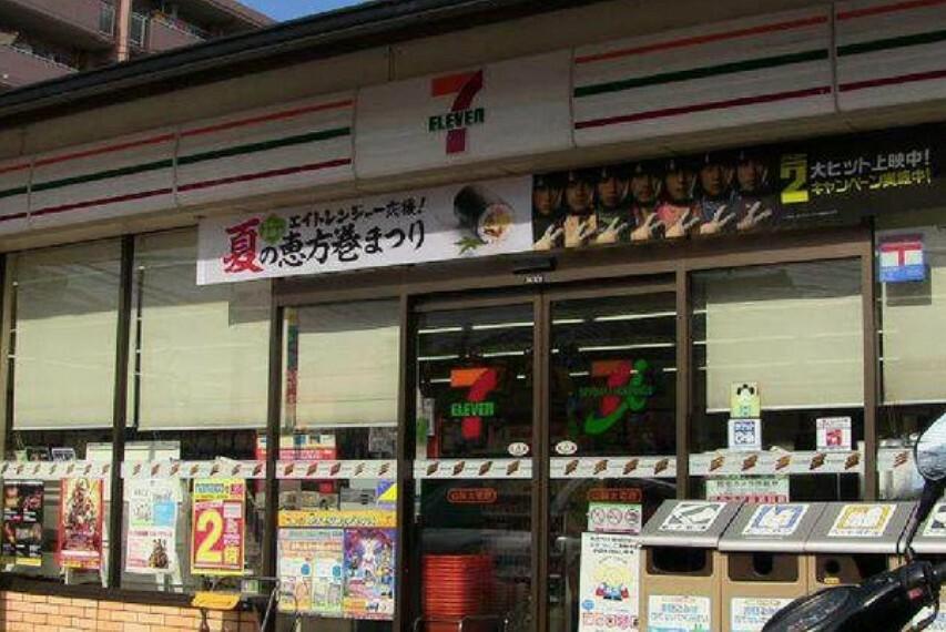 コンビニ セブンイレブン山科大宅店