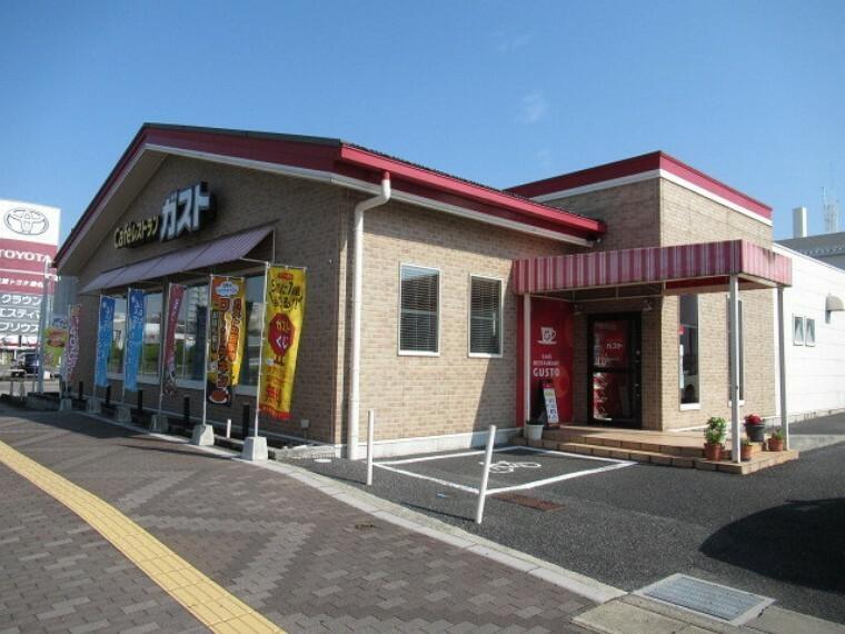 【ガスト 桑名店】 1号線沿いにあるファミリーレストランチェーン店。タブレット注文ができ、便利。 【営業時間】7:00~翌3:00