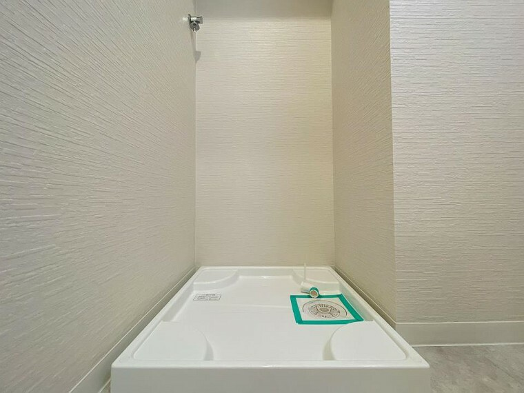 ランドリースペース 洗濯機を配置しても十分なスペースを確保した設計となっております。