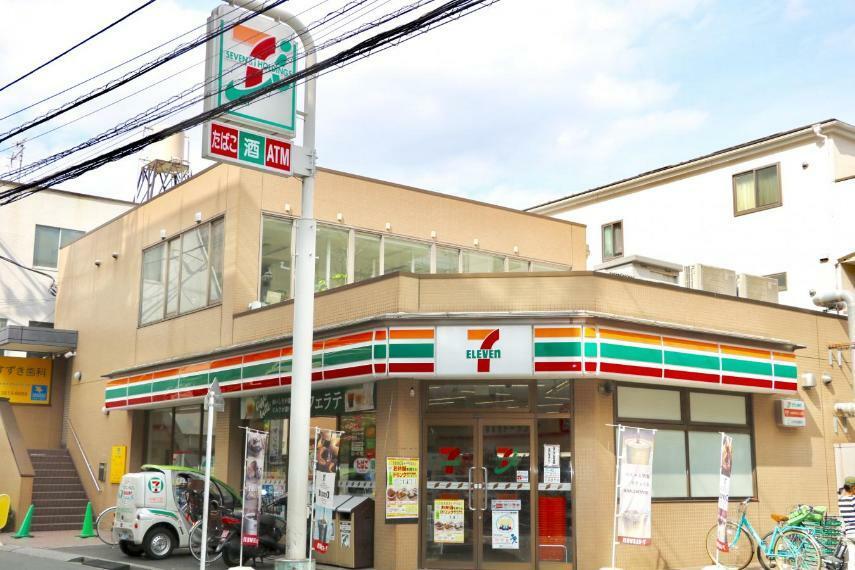 コンビニ セブンイレブン荒川西尾久8丁目店