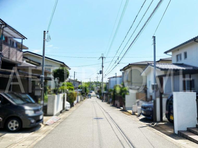 周辺の街並み 前道