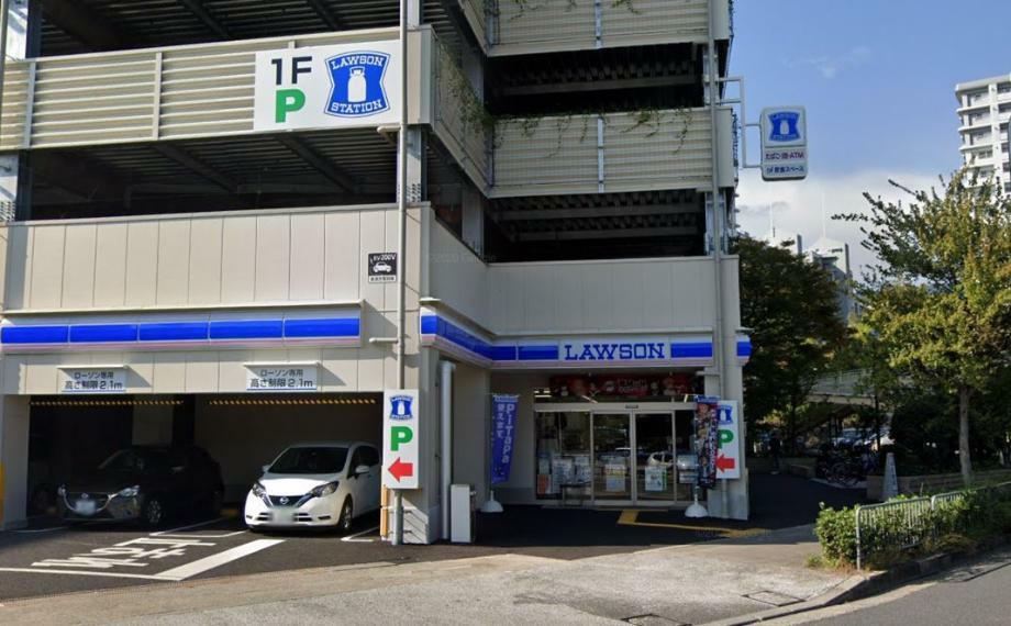 コンビニ ローソン京都境谷大橋店