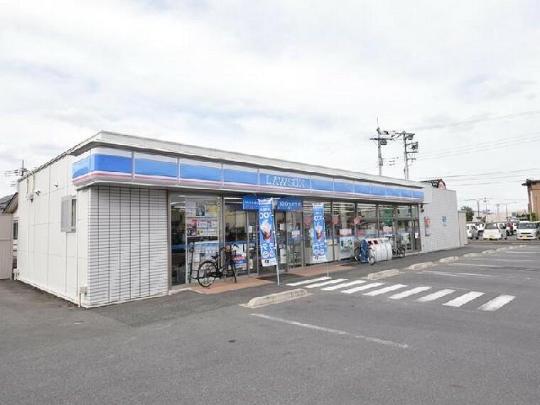 ローソン江木東店・・・徒歩6分なので、お散歩がてらおやつタイムに立ち寄れますね。