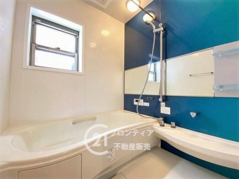 浴室 モダンな雰囲気のおしゃれな浴室ですね
