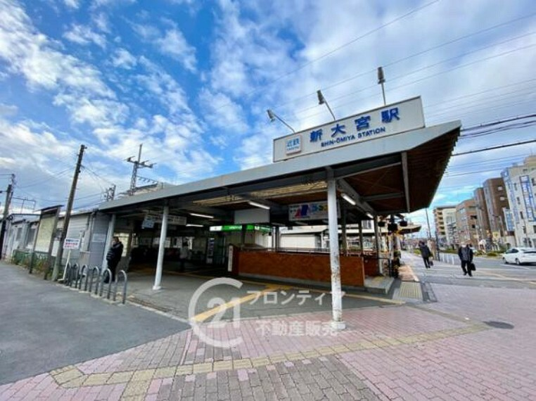 近鉄難波・奈良線「新大宮駅」まで徒歩約6分(約480m)
