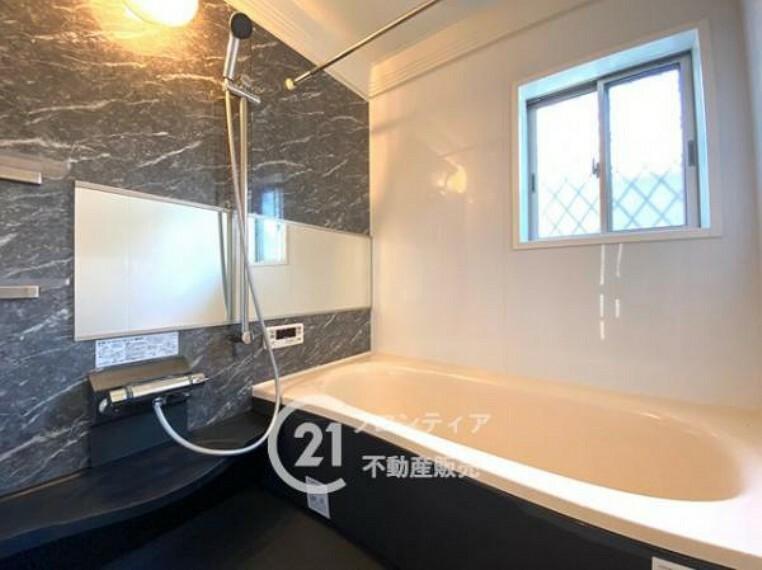 浴室 リフォーム済みのキレイな浴室で快適なバスタイムを過ごせます