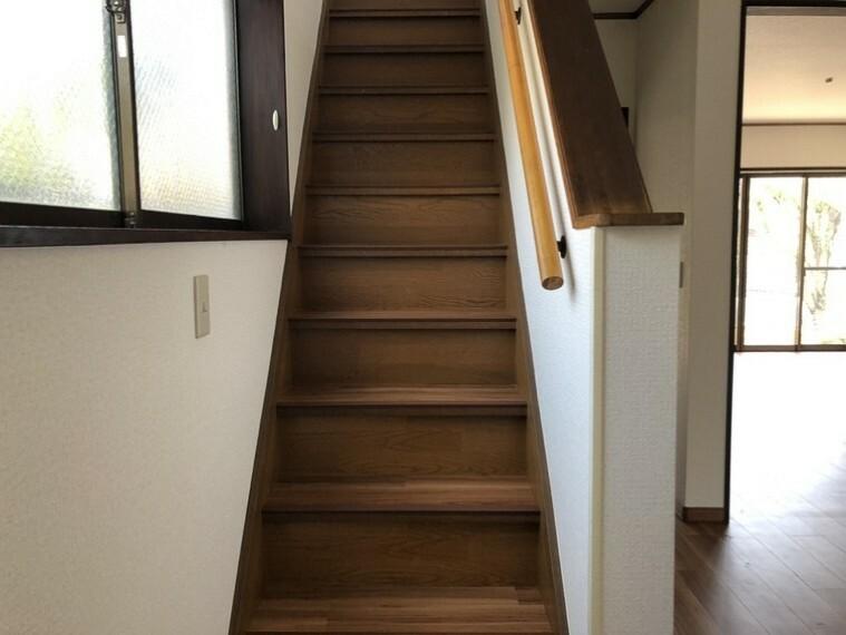 家族が繋がるリビング階段