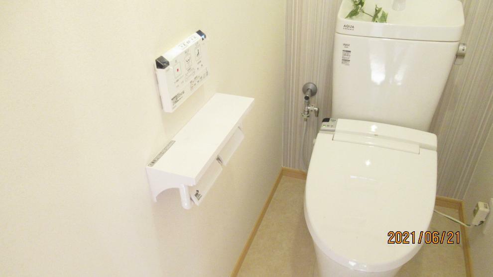 トイレ 快適な温水洗浄便座!