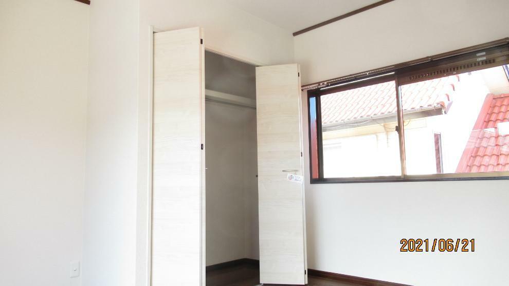 収納 全居室収納スペースあり! 荷物が多くても十分に納まります。