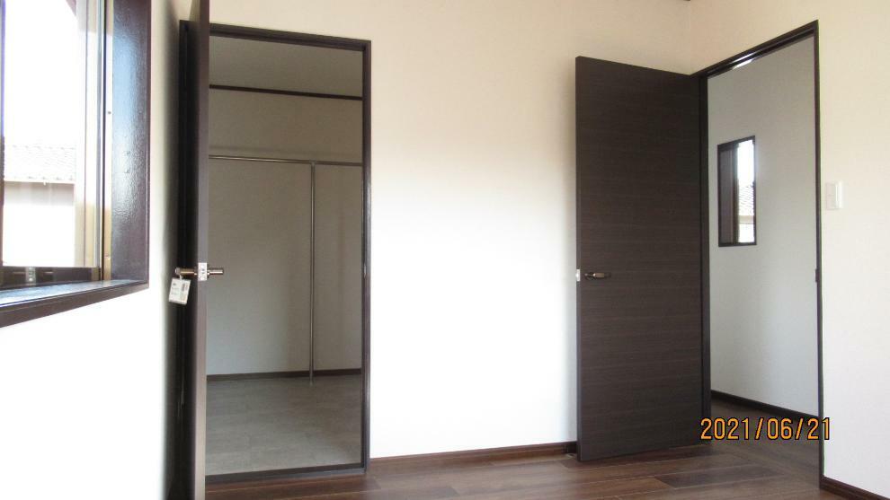 洋室 全居室6帖以上で、どのお部屋も使い勝手がいいですよ!