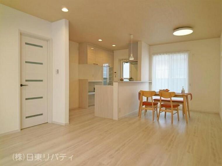 居間・リビング プライバシー性の高い2階LDKのお家。