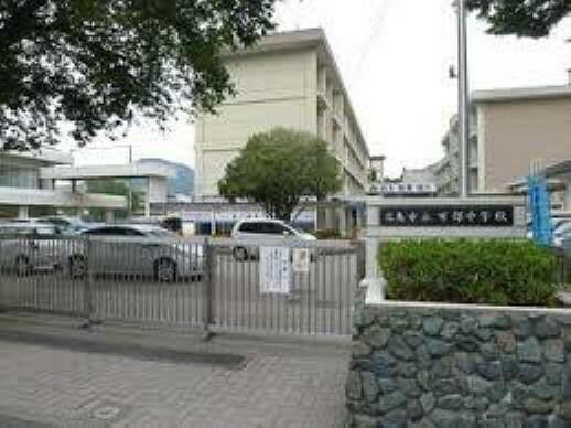 中学校 広島市立可部中学校