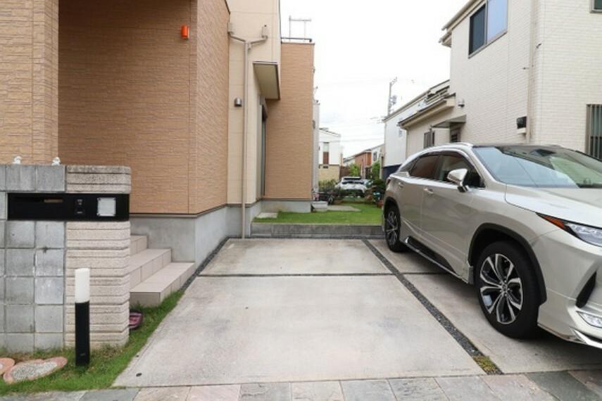 駐車場 駐車スペース2台分ございます。