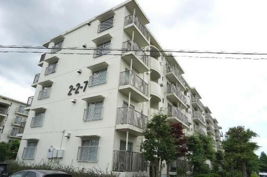 外観写真 吾妻北第一住宅 外観です。
