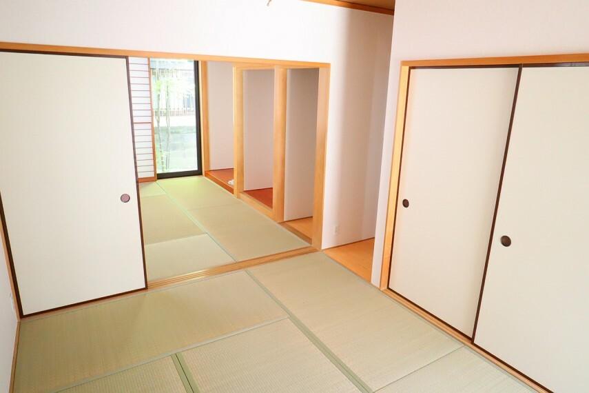 和室 和室 二間続きの和室です  ご家族の集まりにも重宝します