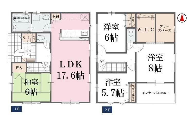 間取り図 【3号棟間取り図】4LDK 建物面積110.12平米(33.36坪)