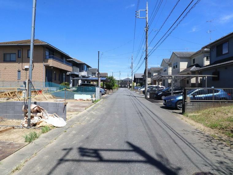現況写真 【前面道路】南側幅員約6.0m公道