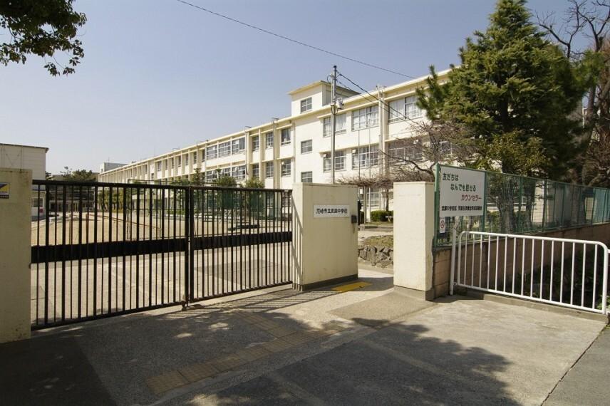 中学校 【中学校】尼崎市立武庫中学校まで418m