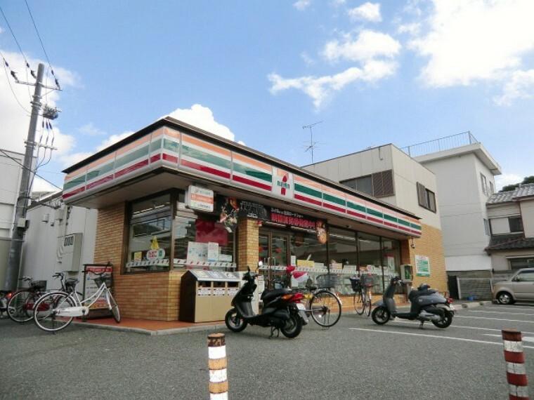 コンビニ 【コンビニエンスストア】セブンイレブン尼崎武庫元町店まで419m