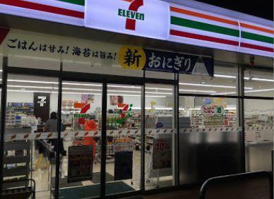 コンビニ セブンイレブン筑西門井店