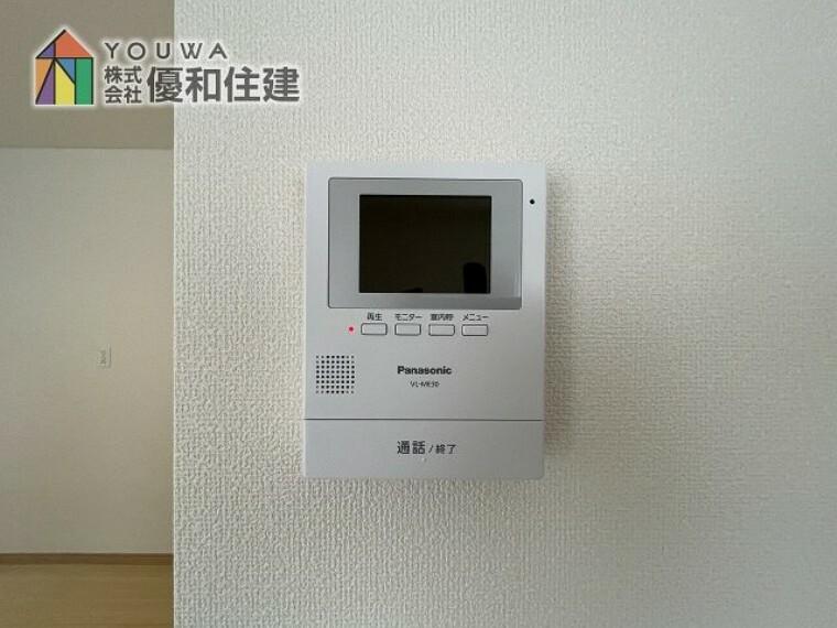 TVモニター付きインターフォン 同社施工例
