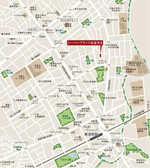JR武蔵野線「東浦和」駅徒歩10分