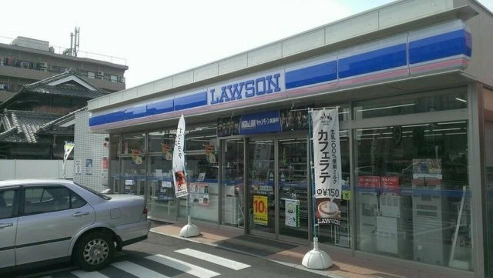 コンビニ ローソン 岡山浜三丁目店