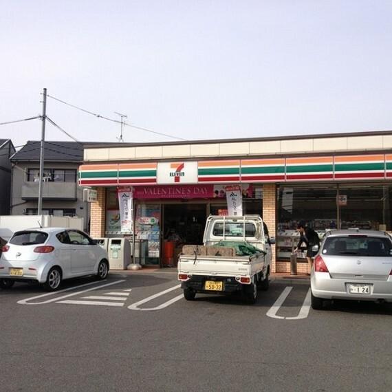 コンビニ セブンイレブン 岡山山崎店