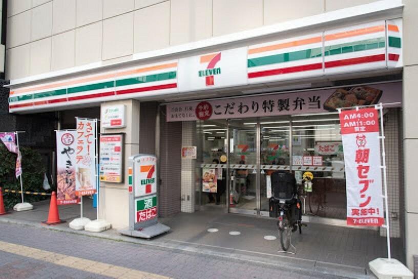 コンビニ 【コンビニエンスストア】セブン-イレブン 文京千石駅前店まで465m