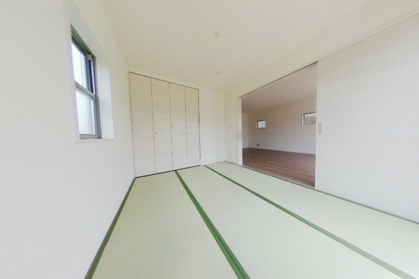 和室 和室があると普段は家事スペースとして利用でき、来客時にはお客様の就寝スペース・また、ホビースペースとしてもご利用していただけます。