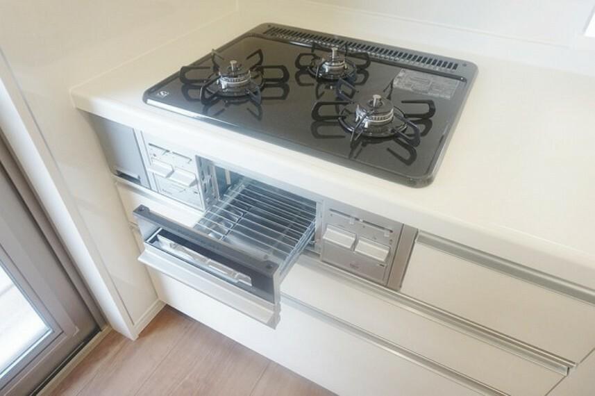 キッチン 「キッチン」グリル機能も付いております。