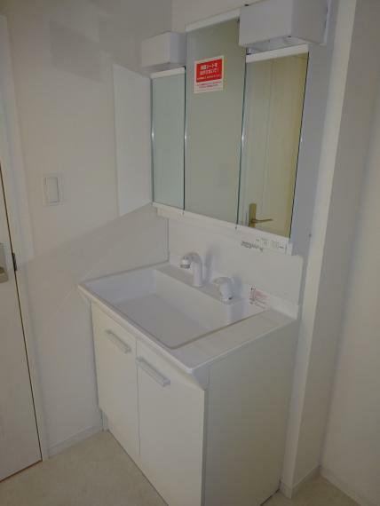 洗面化粧台 シャワーのある洗面化粧台(同仕様)