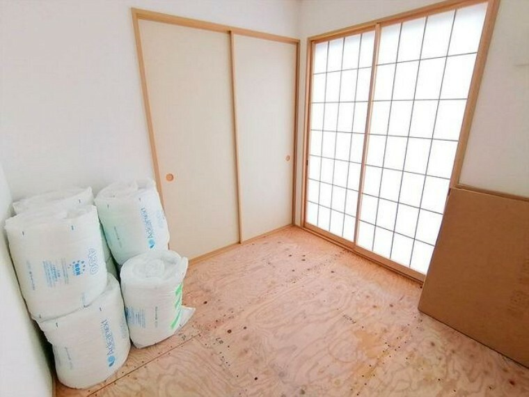 和室 和室 ■昭島市田中町1 新築一戸建て■