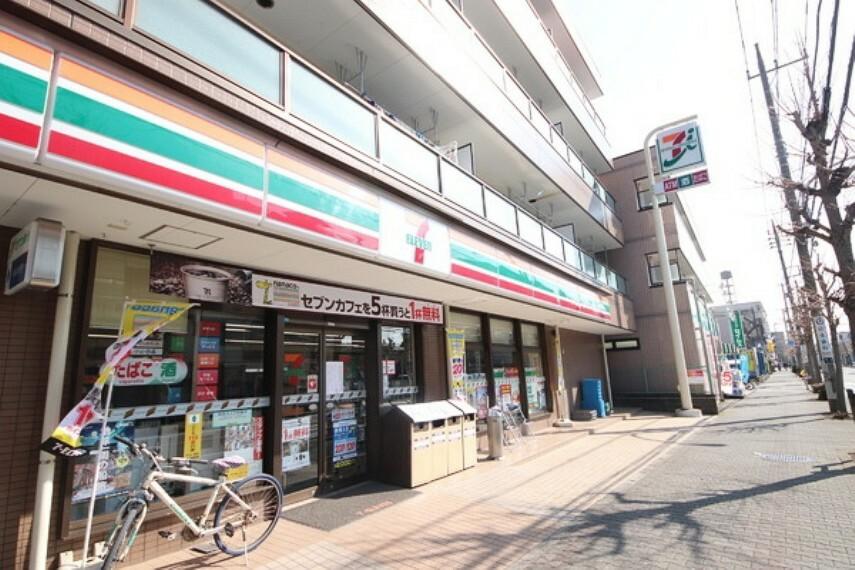 コンビニ セブンイレブン大和桜ケ丘西口店